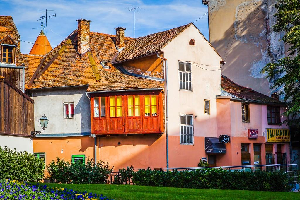 克罗地亚首都萨格勒布(Zagreb),城市印象_图1-19