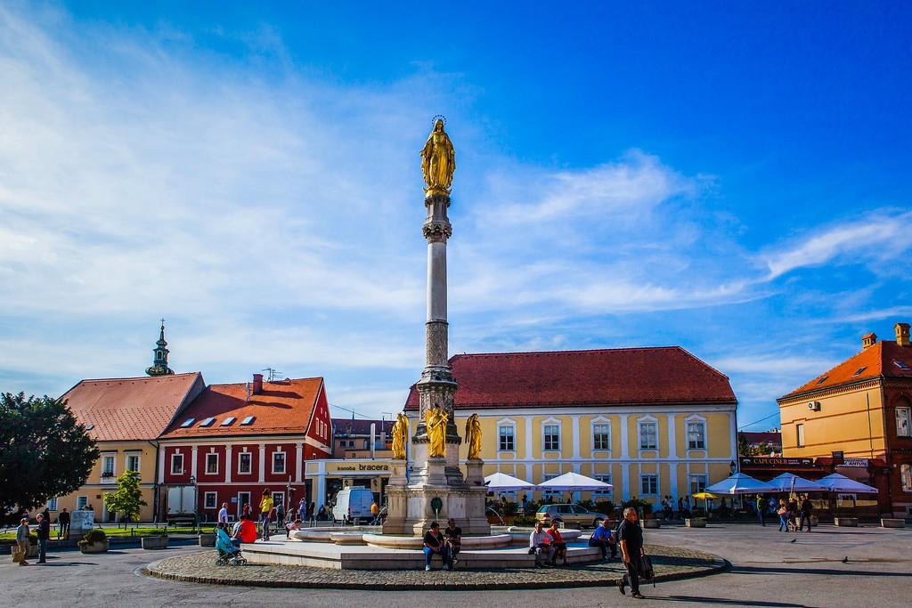 克罗地亚首都萨格勒布(Zagreb),城市印象_图1-10