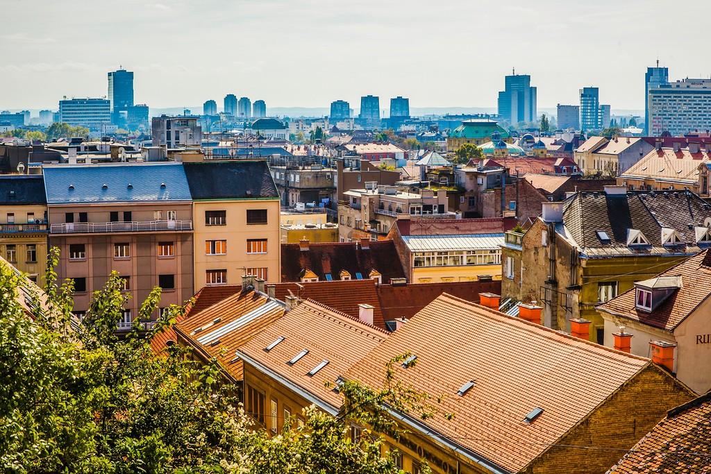 克罗地亚首都萨格勒布(Zagreb),城市印象_图1-12
