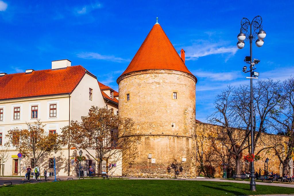 克罗地亚首都萨格勒布(Zagreb),城市印象_图1-1