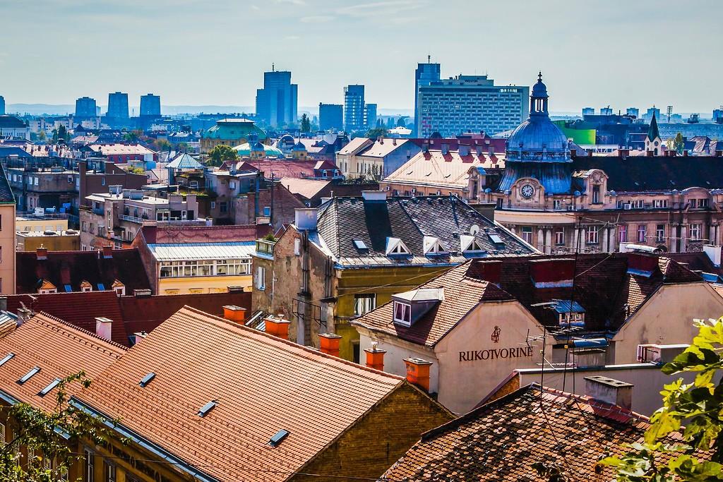 克罗地亚首都萨格勒布(Zagreb),城市印象_图1-2