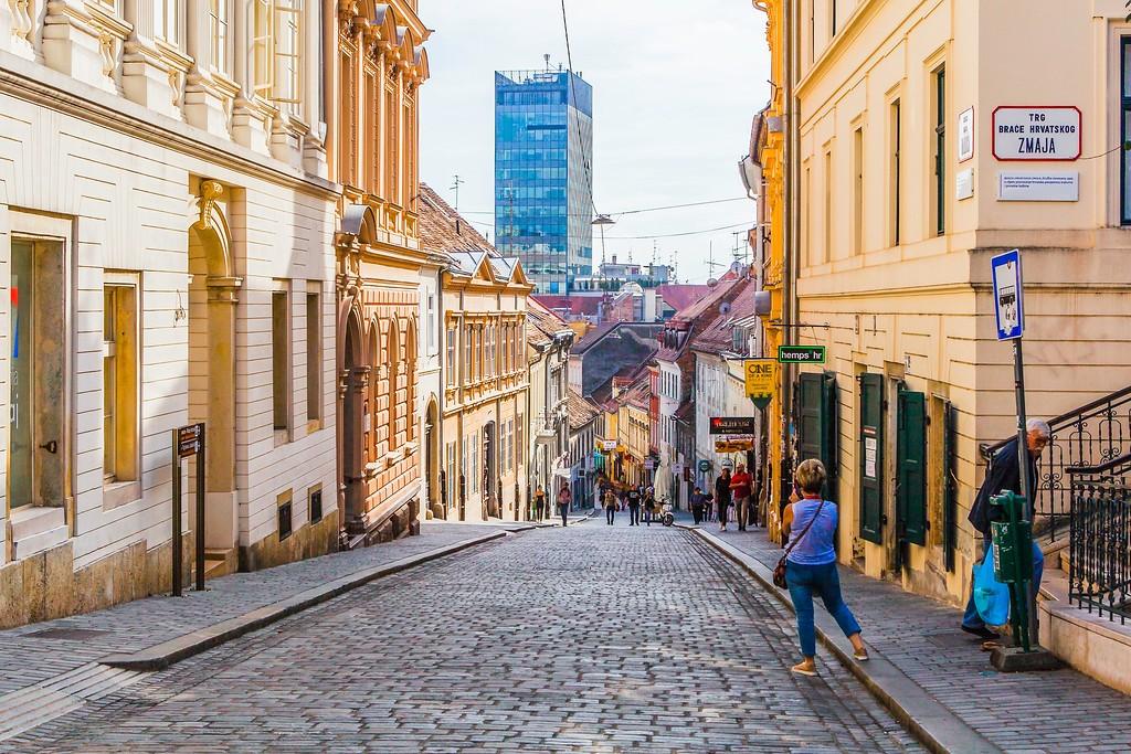 克罗地亚首都萨格勒布(Zagreb),城市印象_图1-3