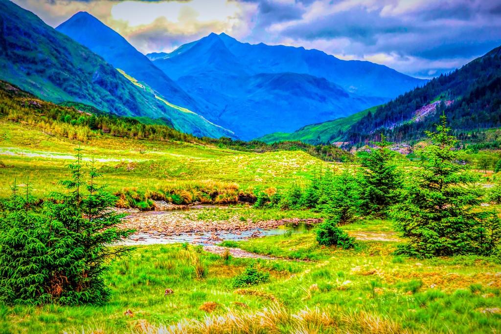 苏格兰美景,景色如画_图1-8