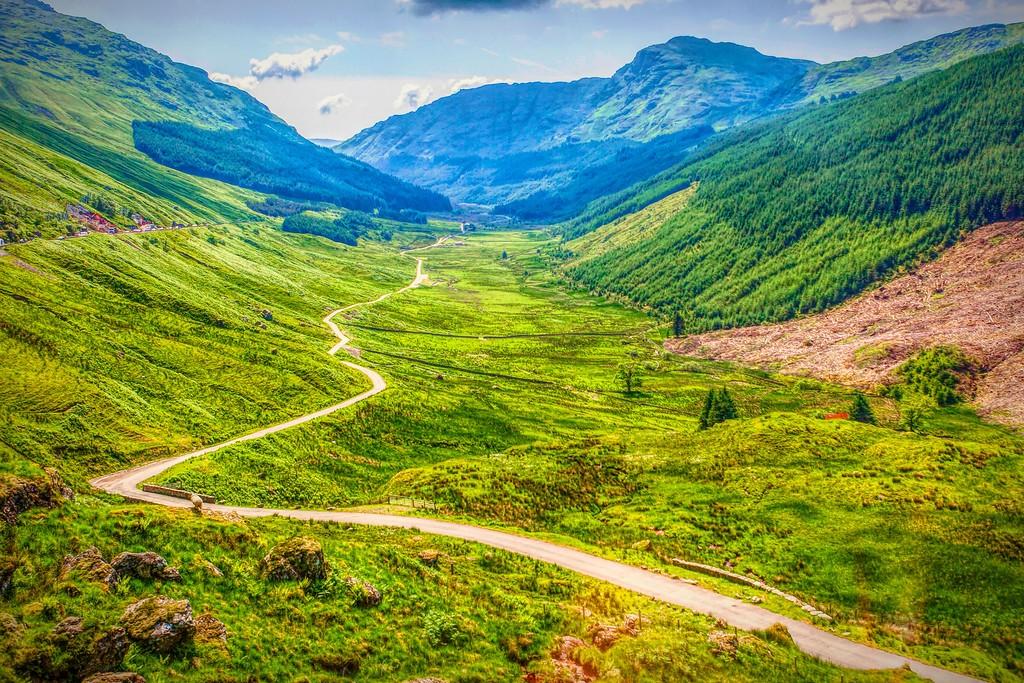 苏格兰美景,景色如画_图1-2