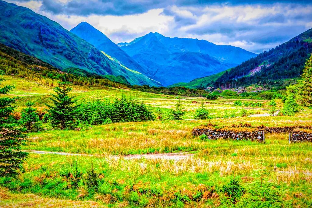 苏格兰美景,景色如画_图1-1