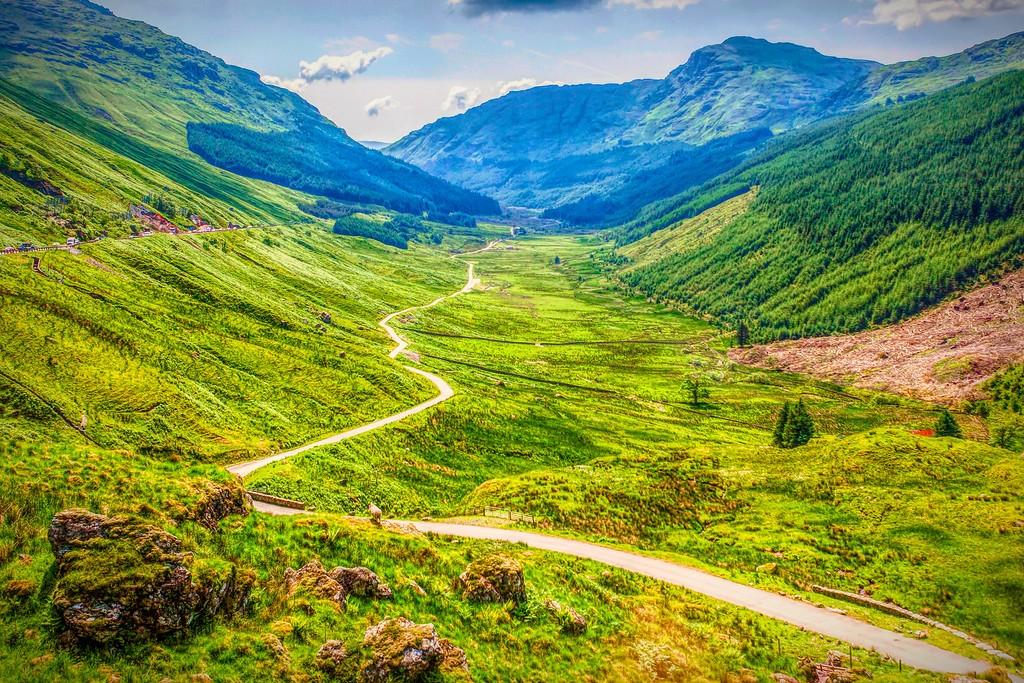 苏格兰美景,景色如画_图1-25