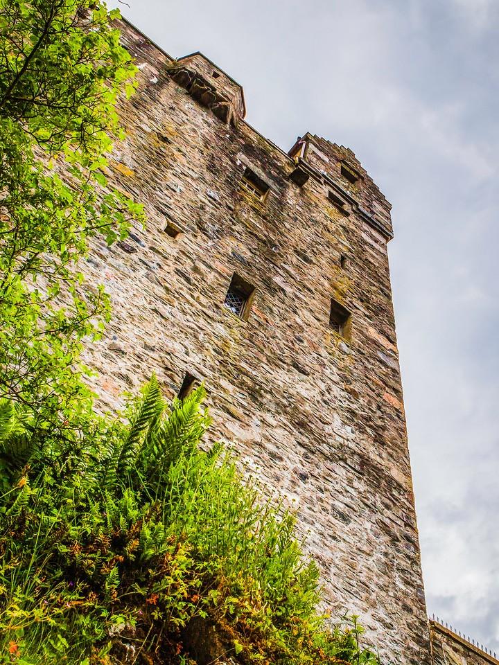 苏格兰艾琳多南城堡(Eilean Donan castle),高高耸立_图1-22