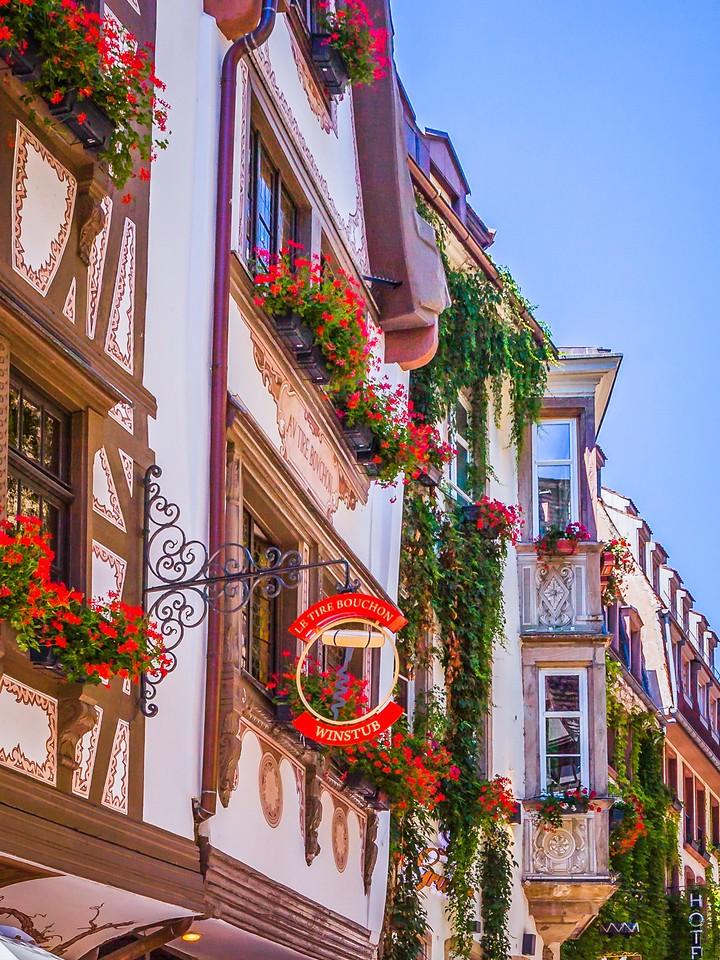 法国斯特拉斯堡(Strasbourg),街上的人气_图1-12
