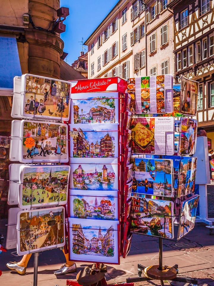 法国斯特拉斯堡(Strasbourg),街上的人气_图1-6