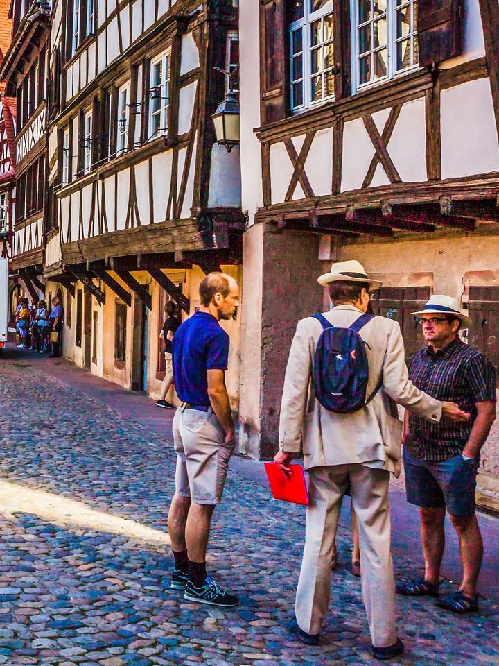 法国斯特拉斯堡(Strasbourg),街上的人气_图1-16
