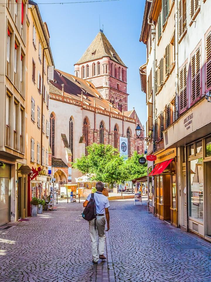 法国斯特拉斯堡(Strasbourg),街上的人气_图1-21