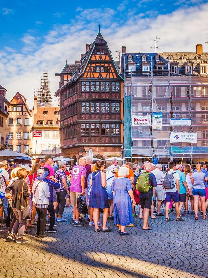 法国斯特拉斯堡(Strasbourg),街上的人气_图1-23