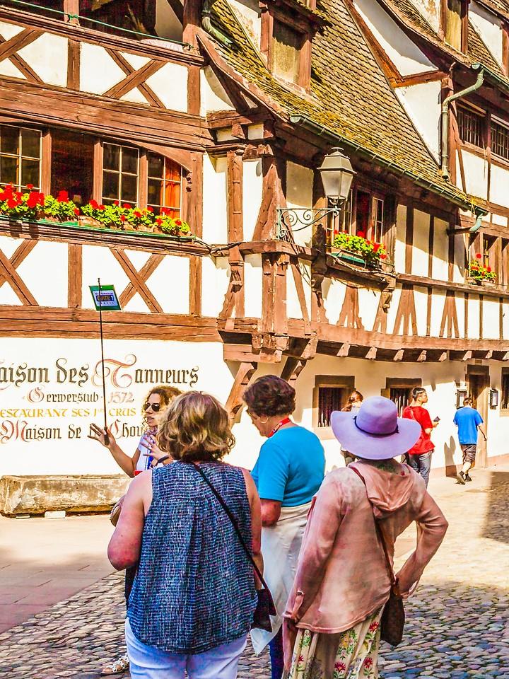 法国斯特拉斯堡(Strasbourg),街上的人气_图1-26