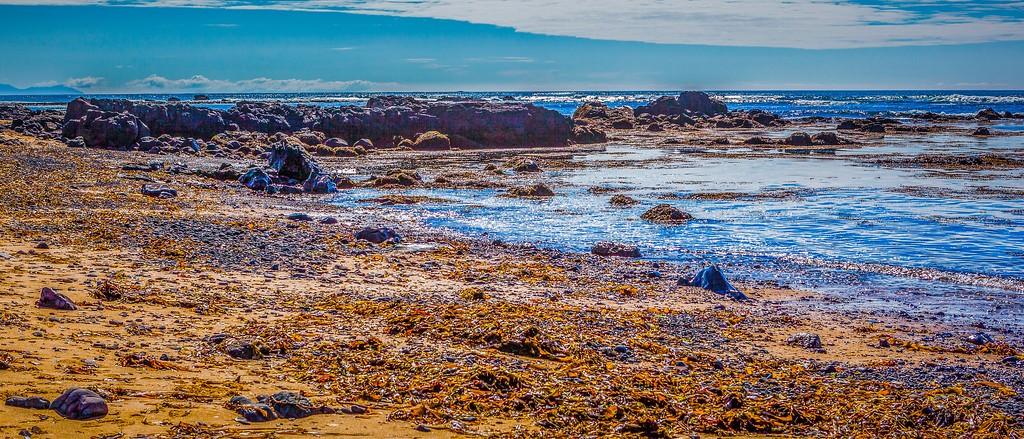 冰岛风采,海岸线上的雪山_图1-28