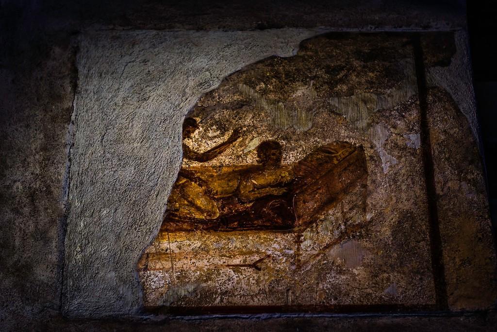 意大利一世纪古城庞贝,历史印记_图1-6