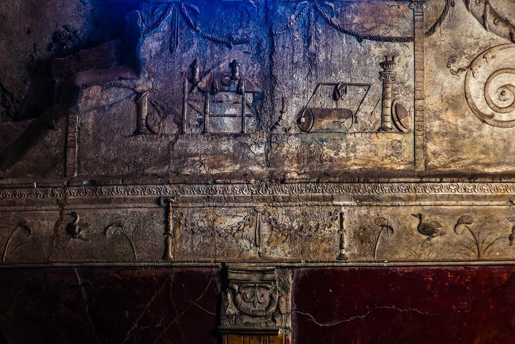 意大利一世纪古城庞贝,历史印记_图1-8