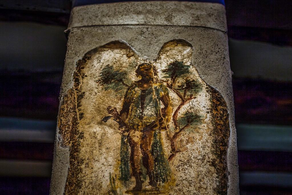 意大利一世纪古城庞贝,历史印记_图1-2