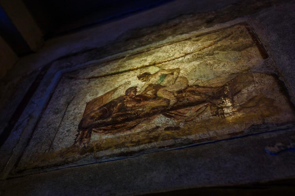 意大利一世纪古城庞贝,历史印记_图1-11