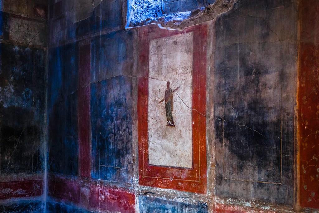 意大利一世纪古城庞贝,历史印记_图1-21