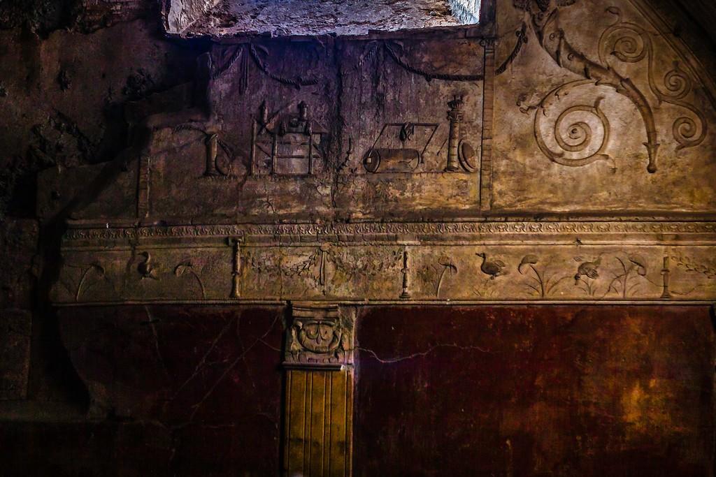 意大利一世纪古城庞贝,历史印记_图1-22