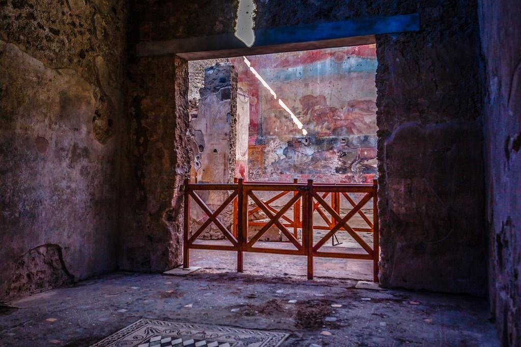 意大利一世纪古城庞贝,历史印记_图1-24