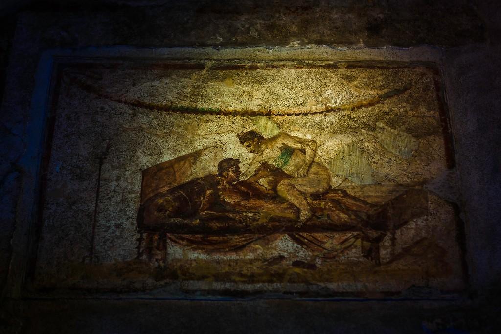 意大利一世纪古城庞贝,历史印记_图1-23