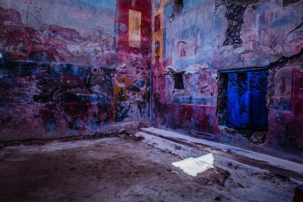 意大利一世纪古城庞贝,历史印记_图1-25