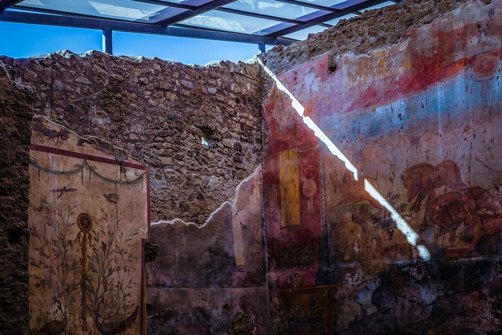 意大利一世纪古城庞贝,历史印记_图1-28