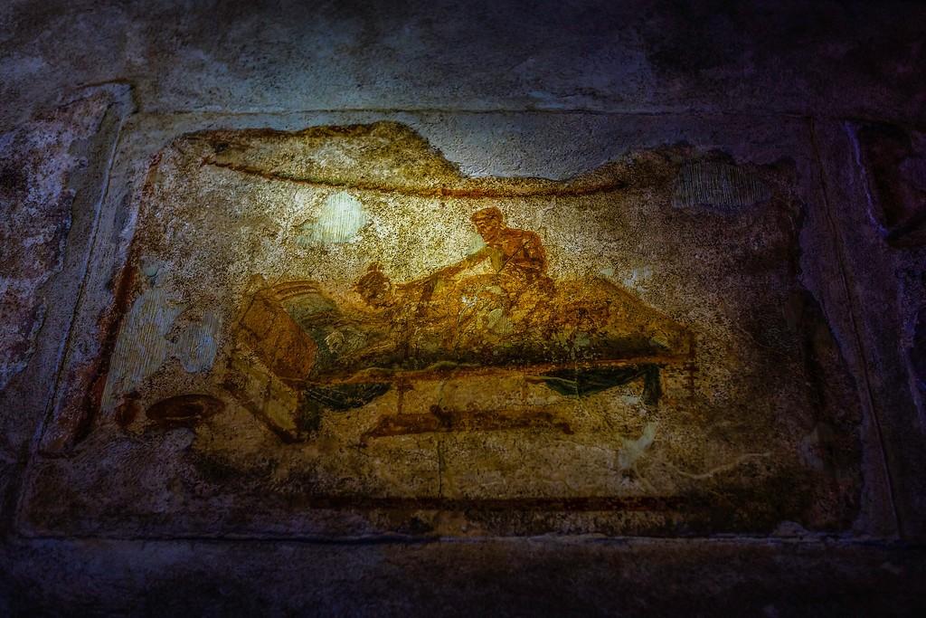 意大利一世纪古城庞贝,历史印记_图1-33