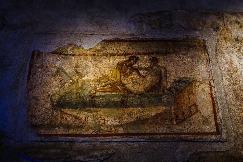 意大利一世纪古城庞贝,历史印记_图1-29