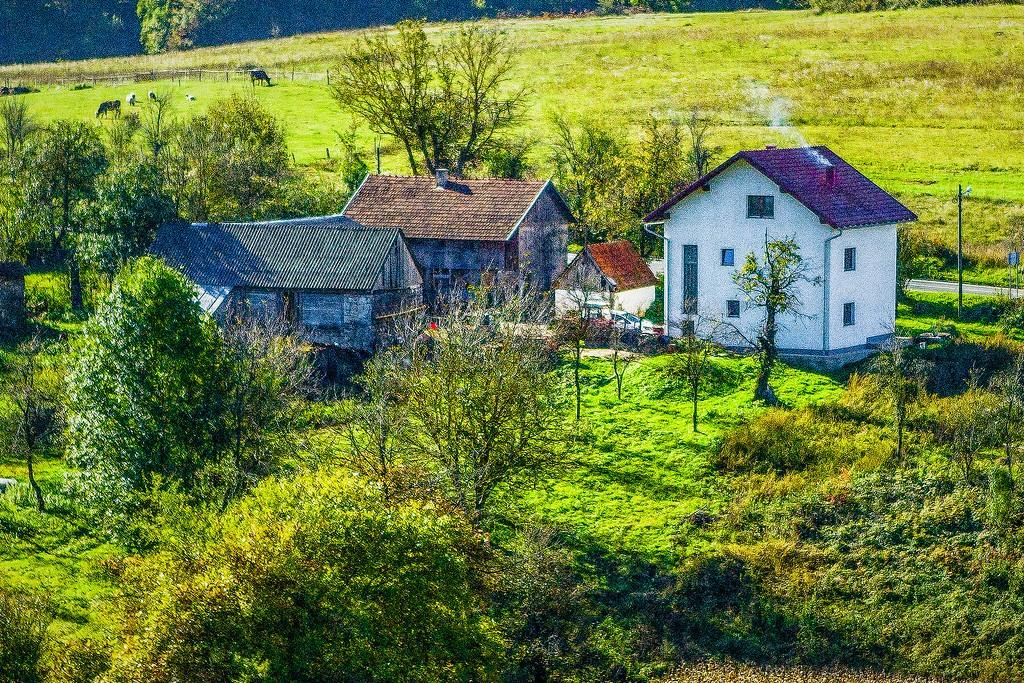 克罗地亚旅途,乡村面貌_图1-30