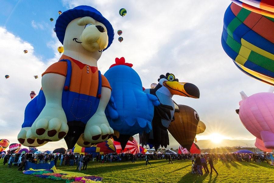 阿尔伯克基国际热气球嘉年华_图1-1