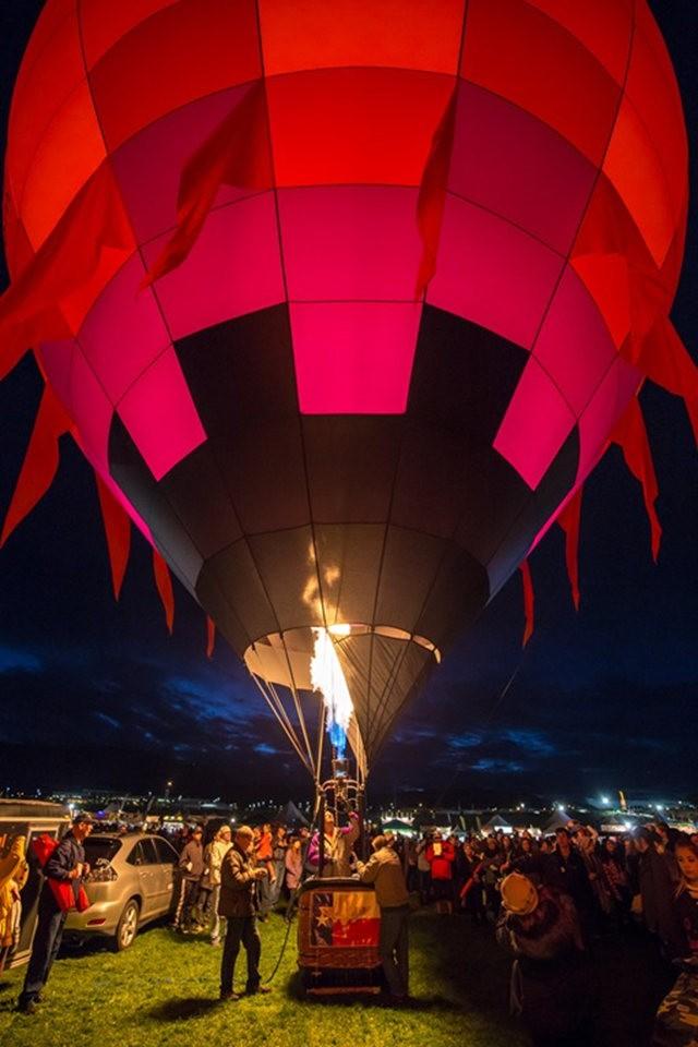 阿尔伯克基国际热气球嘉年华_图1-4