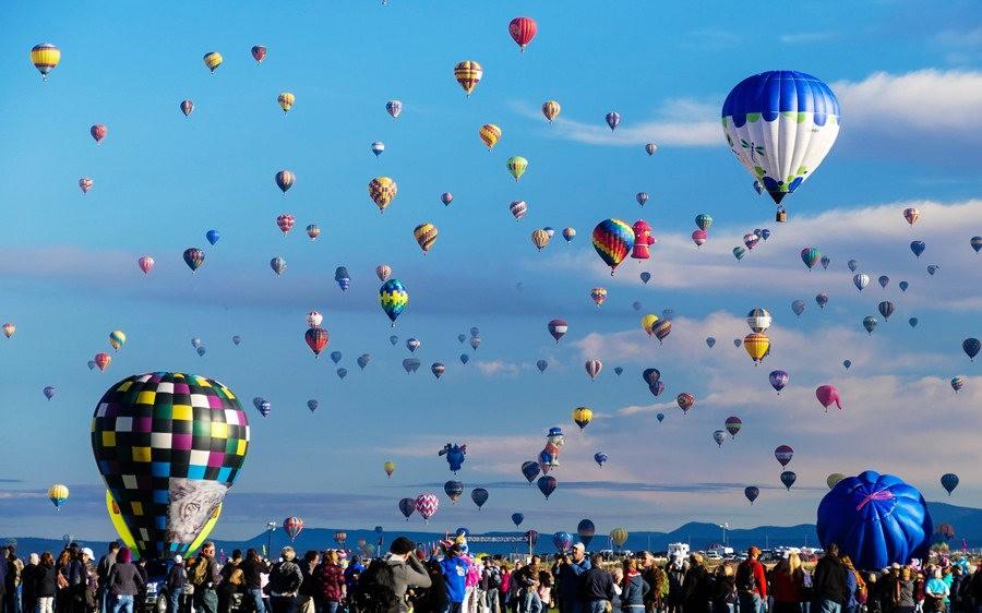 阿尔伯克基国际热气球嘉年华_图1-18