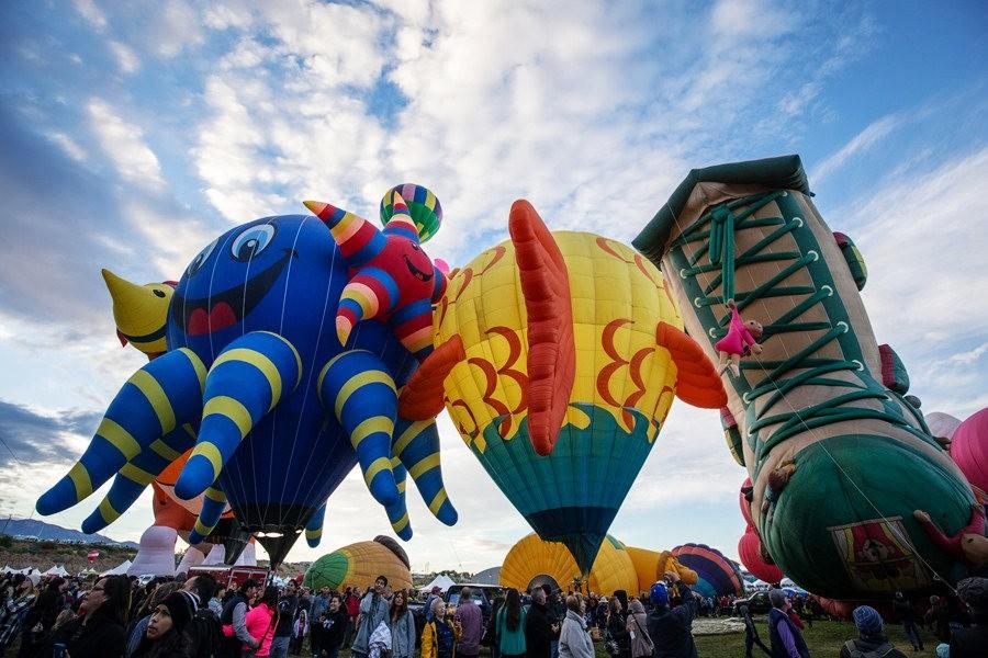 阿尔伯克基国际热气球嘉年华_图1-19