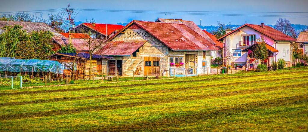 克罗地亚旅途,沿途乡村_图1-27