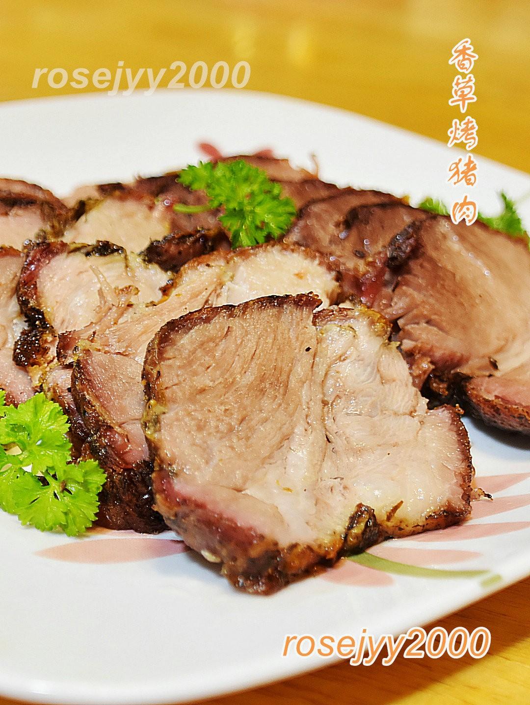 香草烤猪臀肉_图1-3