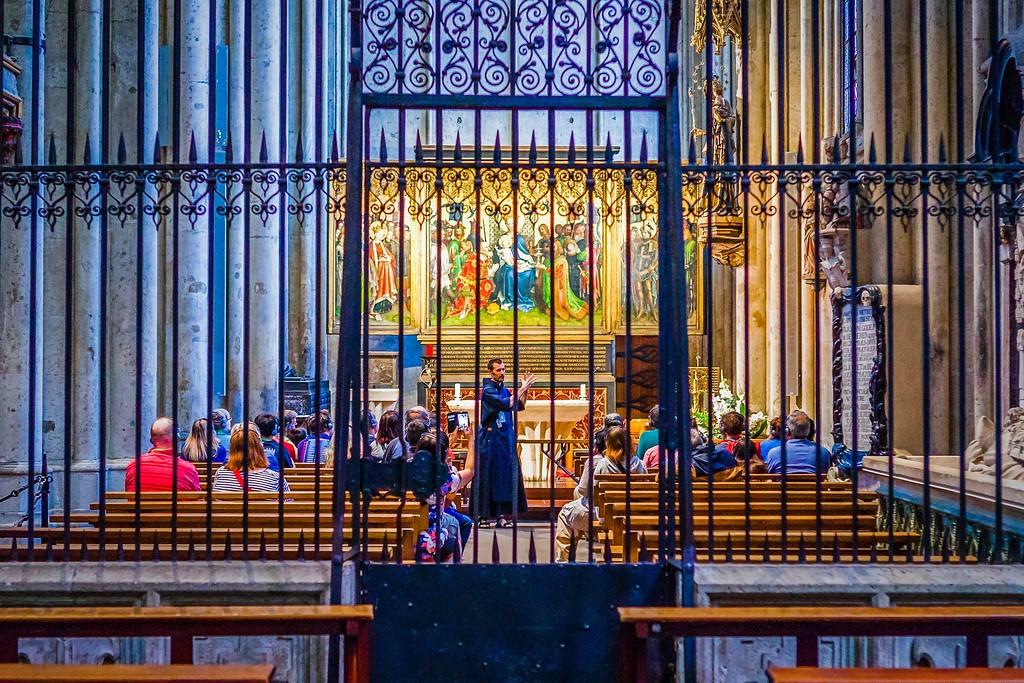 德国科隆大教堂,热闹场景_图1-17