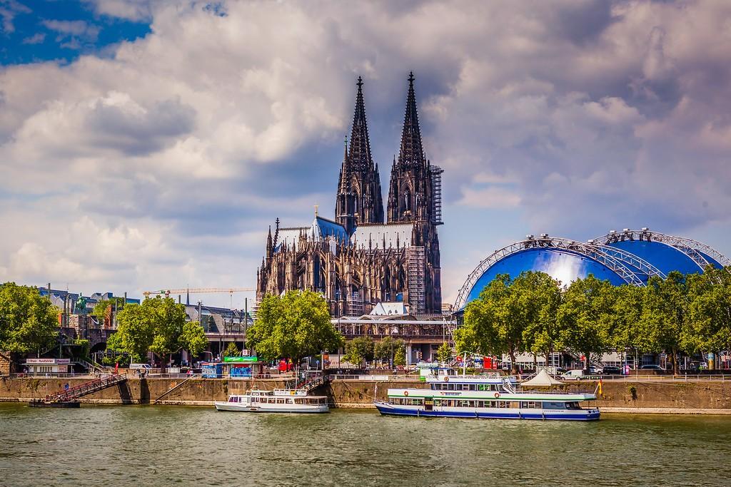 德国科隆大教堂,热闹场景_图1-20