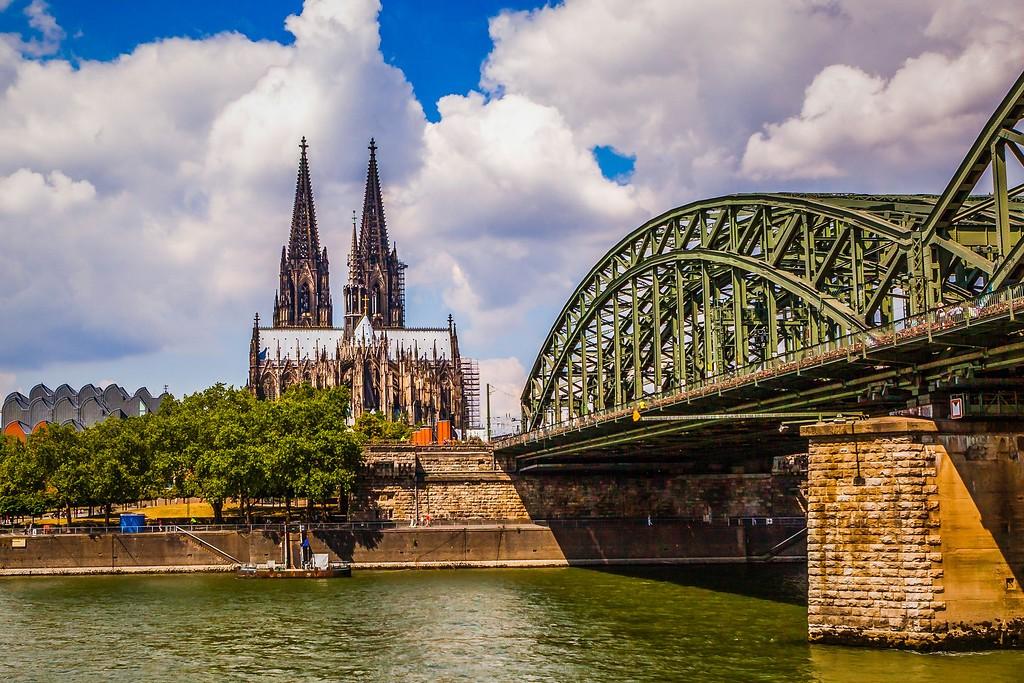 德国科隆大教堂,热闹场景_图1-16