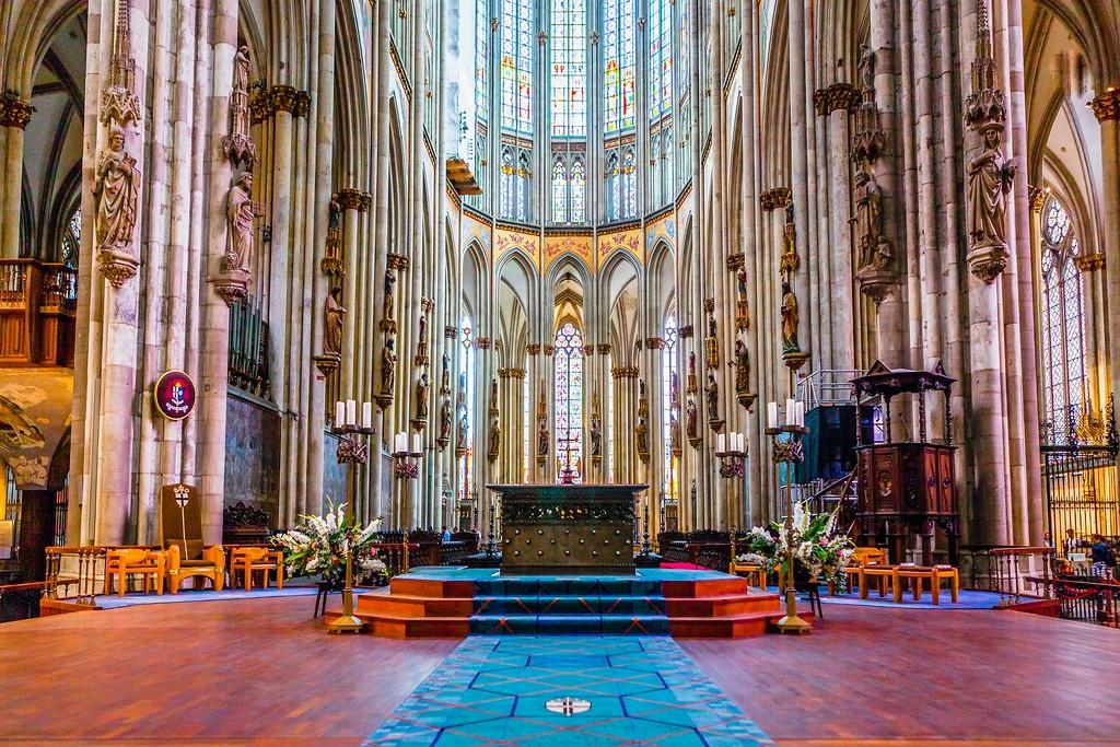 德国科隆大教堂,热闹场景_图1-8