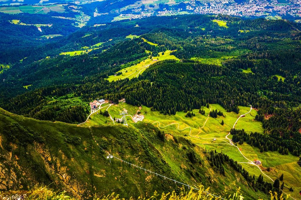 瑞士卢塞恩(Lucerne),山的这一边_图1-2