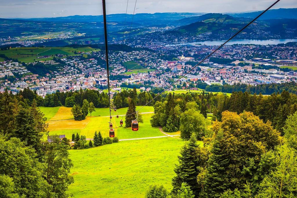 瑞士卢塞恩(Lucerne),山的这一边_图1-1