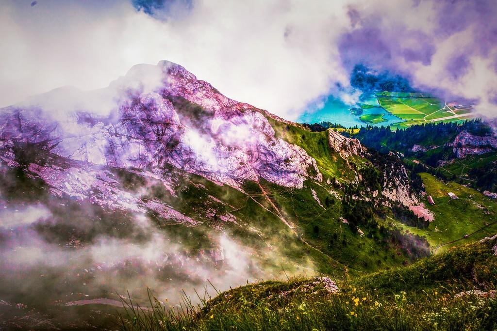 瑞士卢塞恩(Lucerne),山的这一边_图1-6