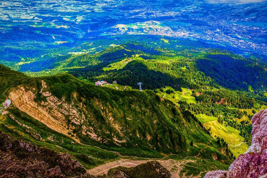 瑞士卢塞恩(Lucerne),山的这一边_图1-4