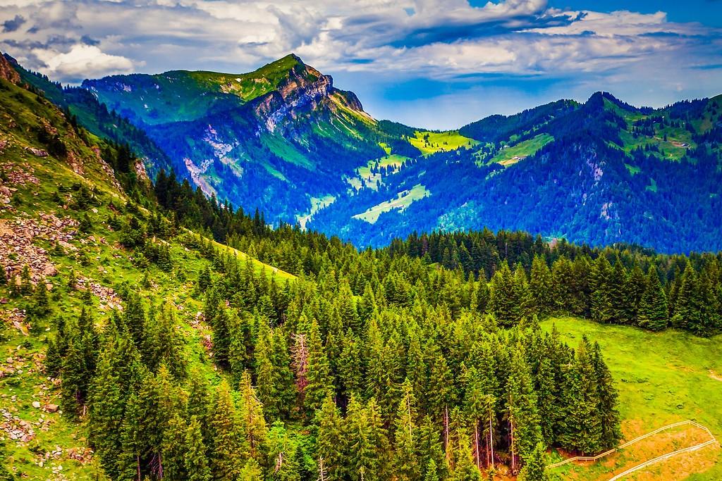 瑞士卢塞恩(Lucerne),山的这一边_图1-5