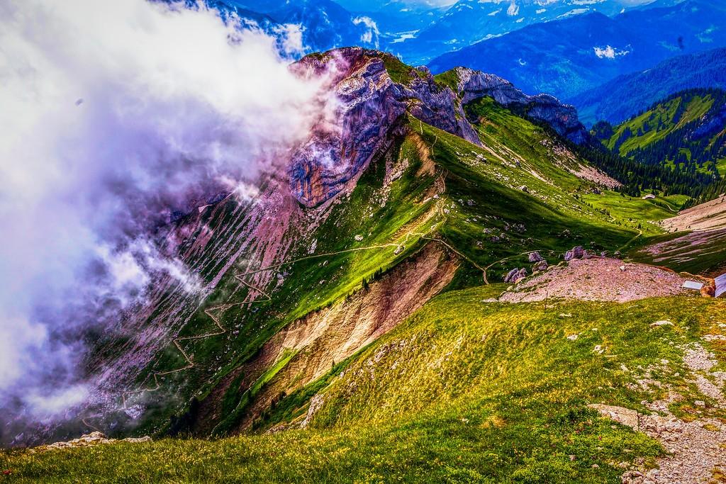 瑞士卢塞恩(Lucerne),山的这一边_图1-12
