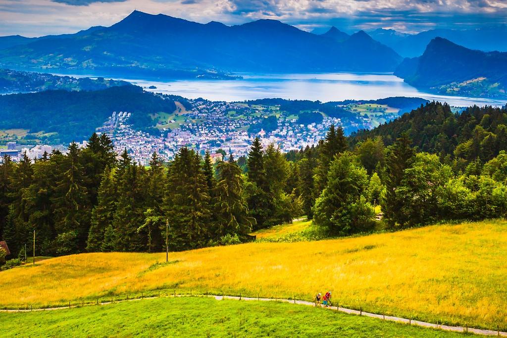 瑞士卢塞恩(Lucerne),山的这一边_图1-19