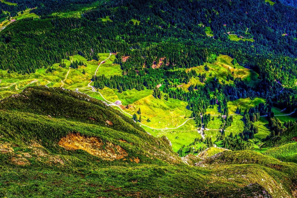 瑞士卢塞恩(Lucerne),山的这一边_图1-25