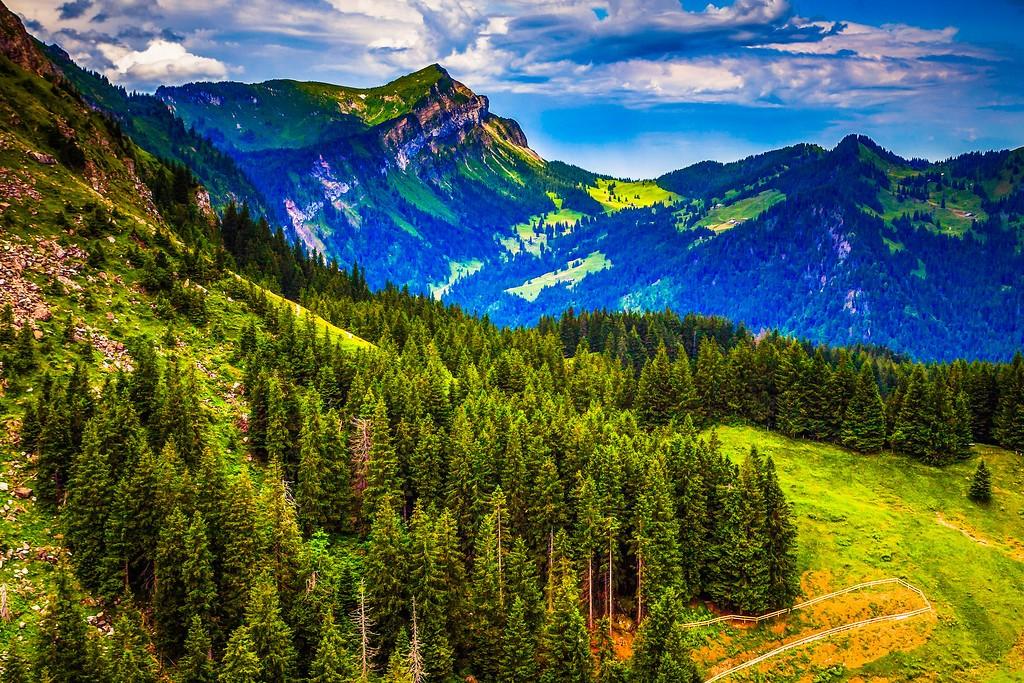 瑞士卢塞恩(Lucerne),山的这一边_图1-32